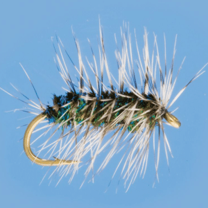 This picture shows viewers what the 5th best fly fishing fly looks like.