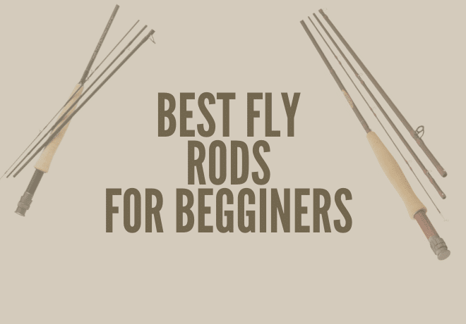 This picture shows the viewers what the best fly rod for beginners looks like.
