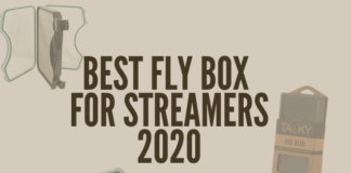 This picture shows a couple of the best streamer boxes for for fly fishing.