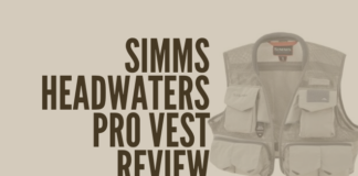 This is a picture of the Simms headwaters pro vest so viewers can see what it looks like.